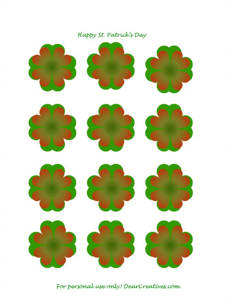 Clover 4 leaf - clover flower