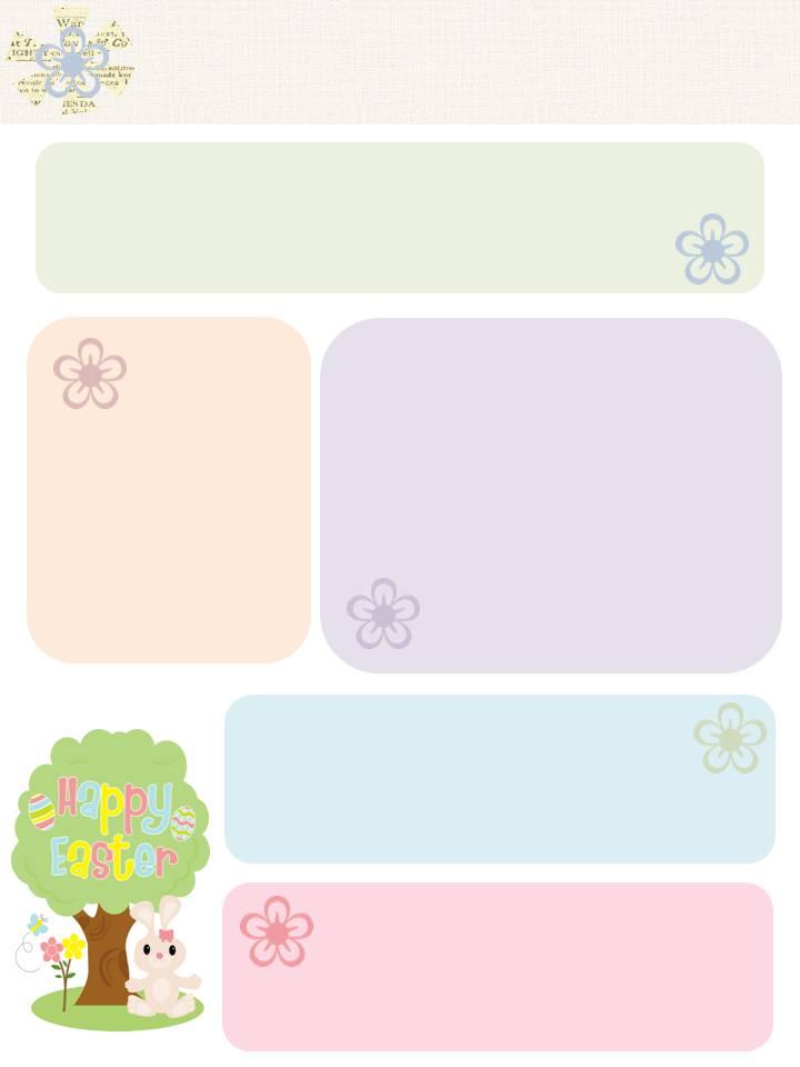 Free Printables | Easter / Spring Free Printables Worksheet DearCreatives.comEaster Worksheet DearCreatives.com