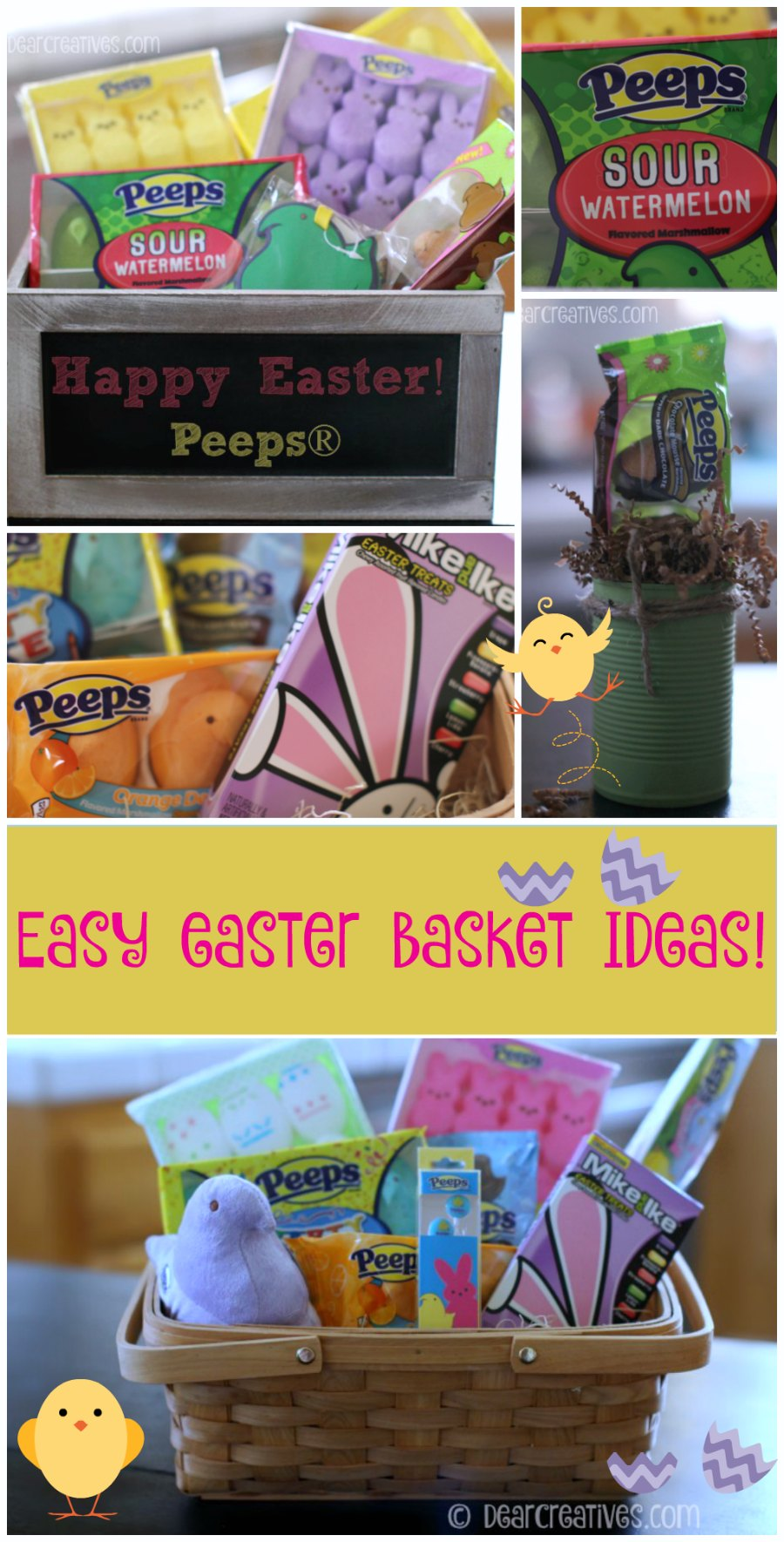 Gift Baskets Easy Easter Basket Ideas