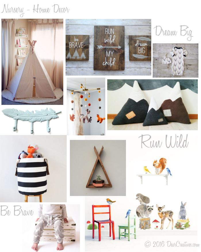Home D Cor Woodland Nursery Themed Ideas You 39 Ll Love
