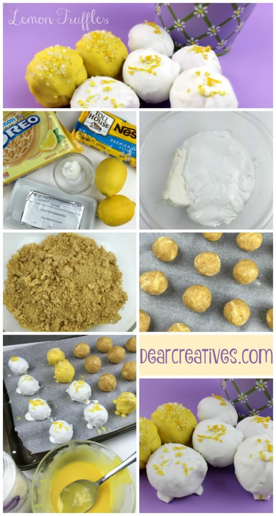 Truffles Recipe Lemon Truffles Step by step how to | Truffles Recipe Easy