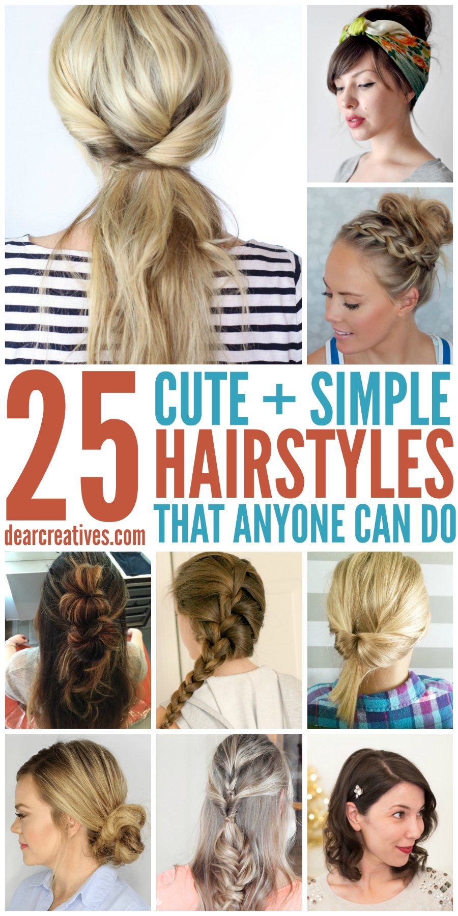 Super Hairstyles Simple Hairstyles For Long Hair That Anyone Can Do Short Hairstyles For Black Women Fulllsitofus