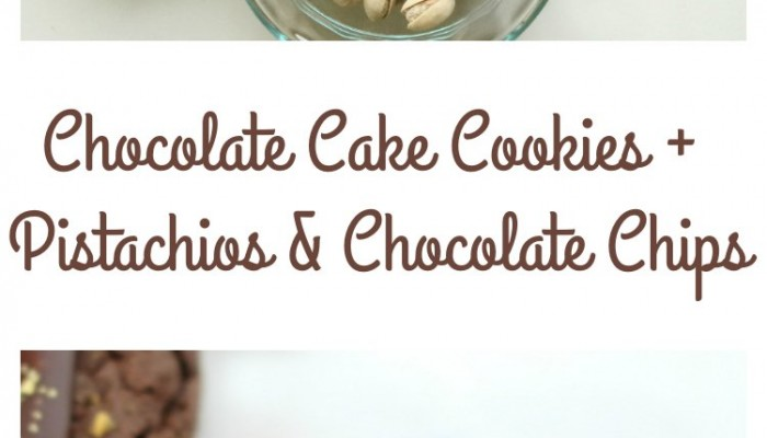 Easy Chocolate Cookies With Chocolate Chips Iced & Topped