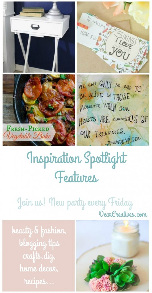 Linkup Party Inspiration Spotlight DearCreatives.com