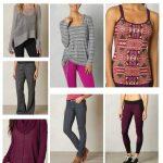 activewear prAna fashion style board
