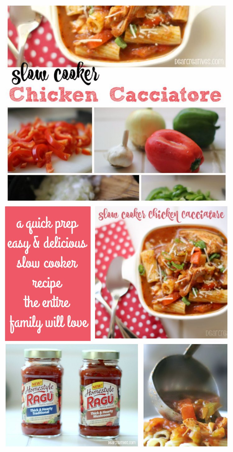 Slow Cooker Recipes: Chicken Caccaitore Recipe Video Tutorial