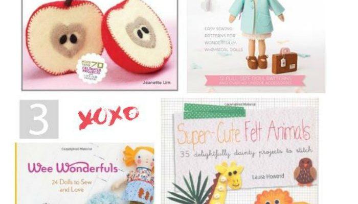 Felt Craft Projects: Felt Craft Books – Patterns You'll Love To Make!