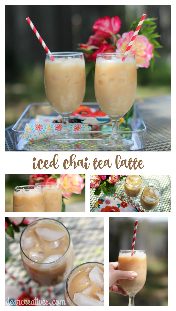 How To Make An Iced Chai Latte + Starbucks #CoffeePassion