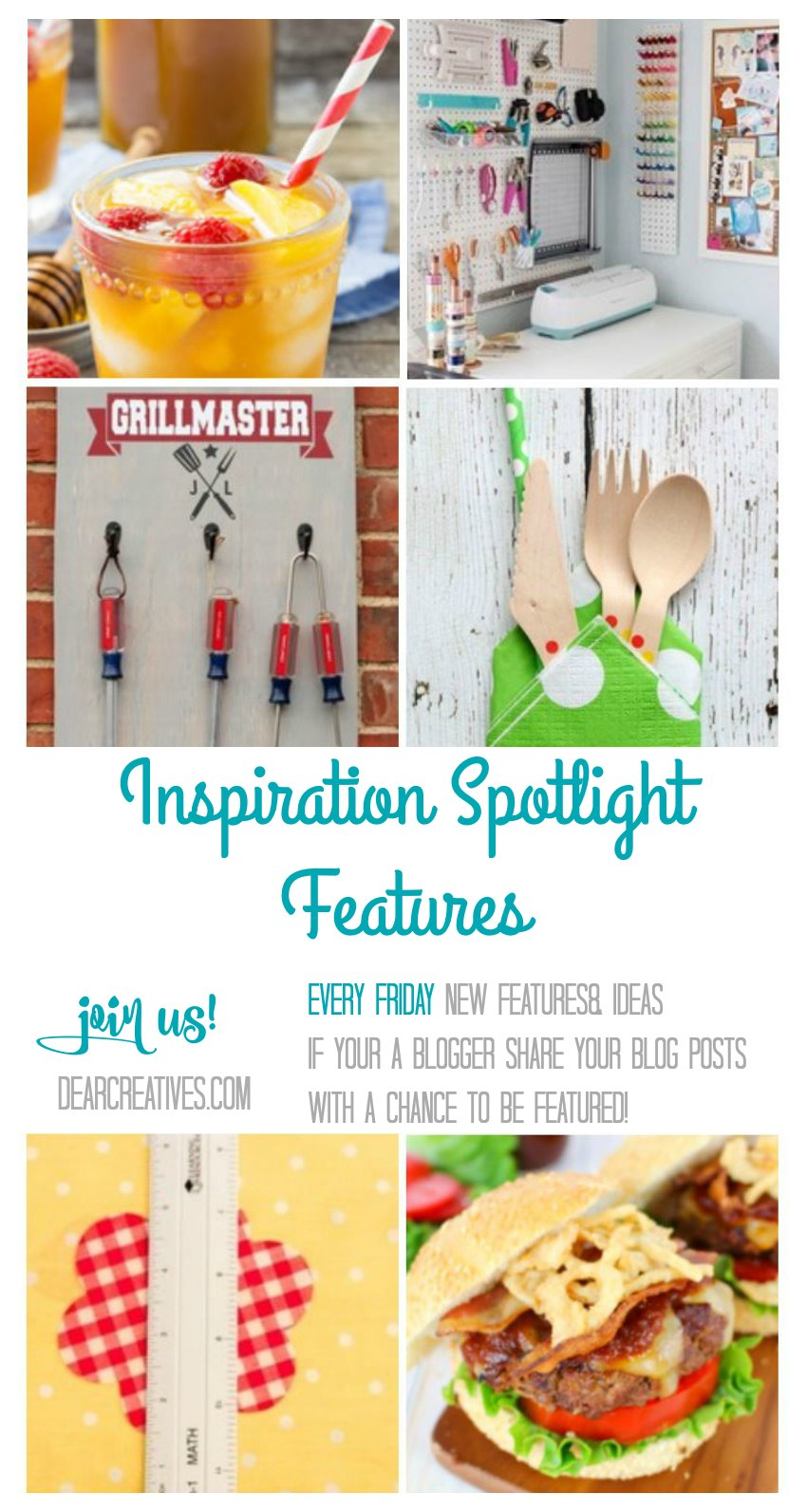 Linkup Party: Inspiration Spotlight 197 Join us! Crafts Recipes & More!