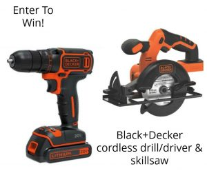 #PowerForYourStyle Giveaway Black & Decker #ad Power Tools Giveaway