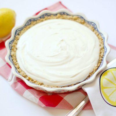 Cool And Refreshing Easy Lemon Ice Box Pie