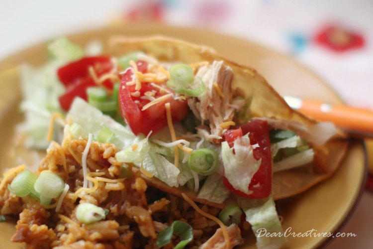 Slow Cooker Recipes   Slow Cooker Chicken Tacos