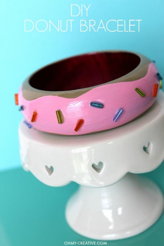 DIY Craft Projects fun doughnut crafts and diys