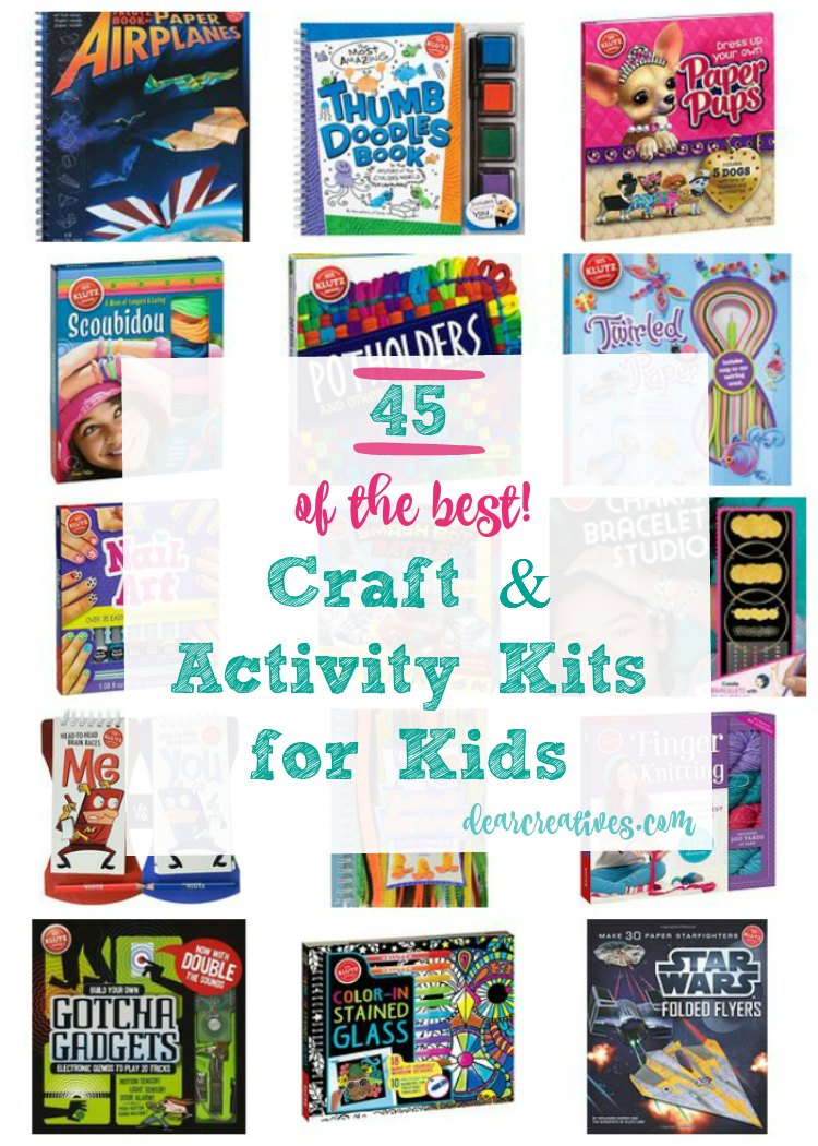 Craft Kits And Activity Kits Klutz Crafts 45 of the best kits for kids