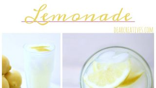 Old Fashioned Squeezed Lemonade