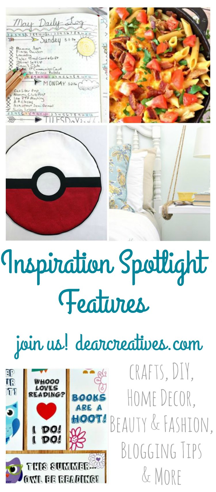 Linkup Party: Inspiration Spotlight Linky Party 206 Join Us!