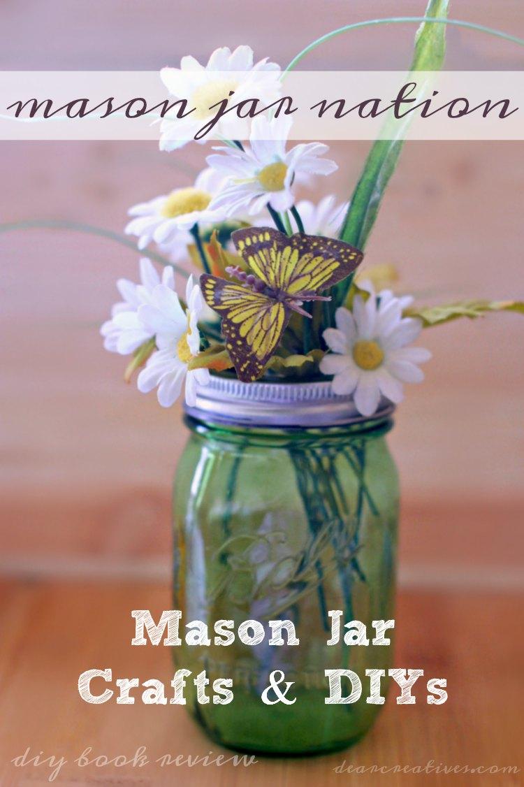Mason Jar Crafts | So many mason jar crafts to pick from that anyone can do!