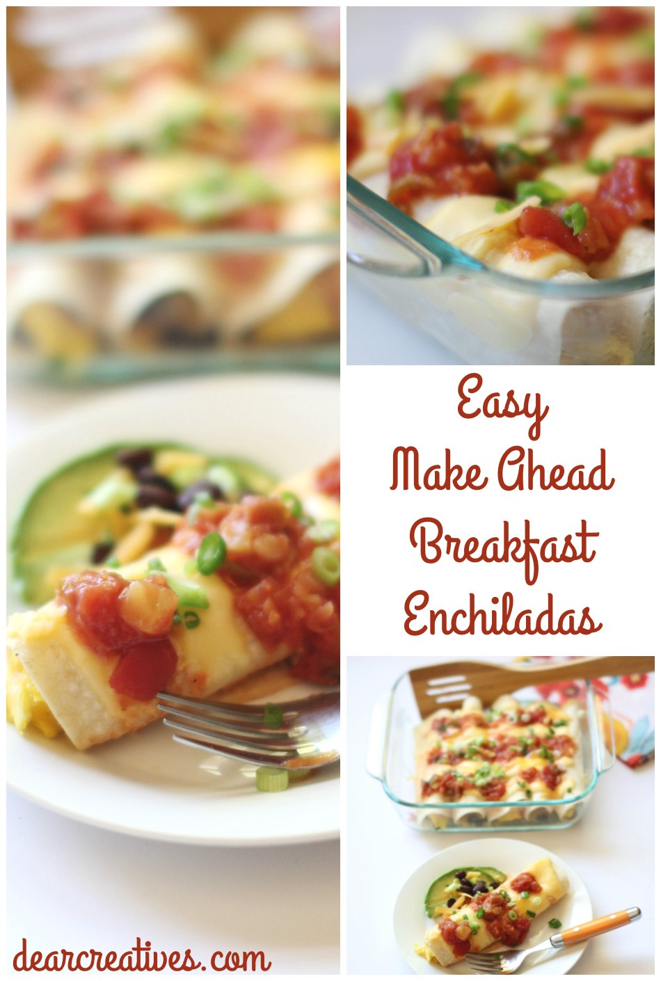 Make-Ahead Breakfast Enchiladas (Egg, Cheese,Black Beans…)
