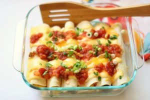 breakfast enchiladas a sweet spicy recipe that is easy to make
