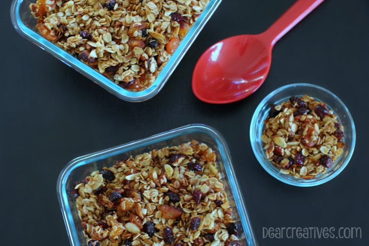 Granola : Homemade Granola Recipe Easy 30 Minute Recipes