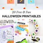 Free Printables | 20 Free and Fun Halloween Printables