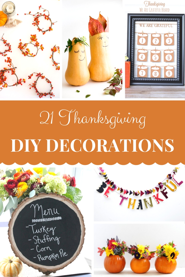 Thanksgiving ideas diy so many festive fun easy home for Thanksgiving home ideas