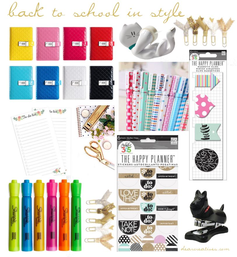 School Supplies | Back To School School Supplies Stylish School Supplies