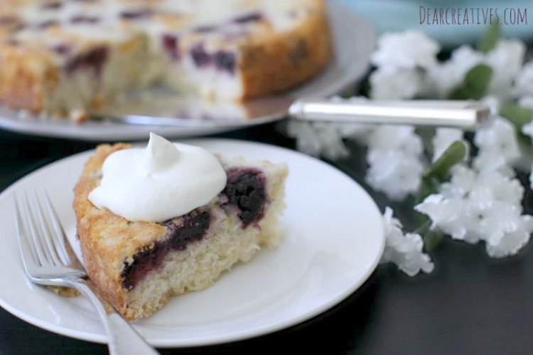 Cake Recipes Blackberry And Peaches Coffee Cake This is an easy recipe ...
