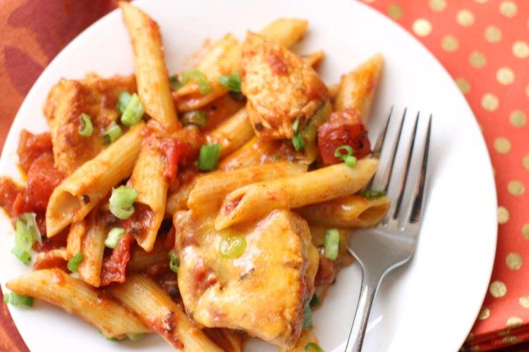 Easy, Cheesy, Chicken Pleas-y! Chicken Chili Mac Recipe