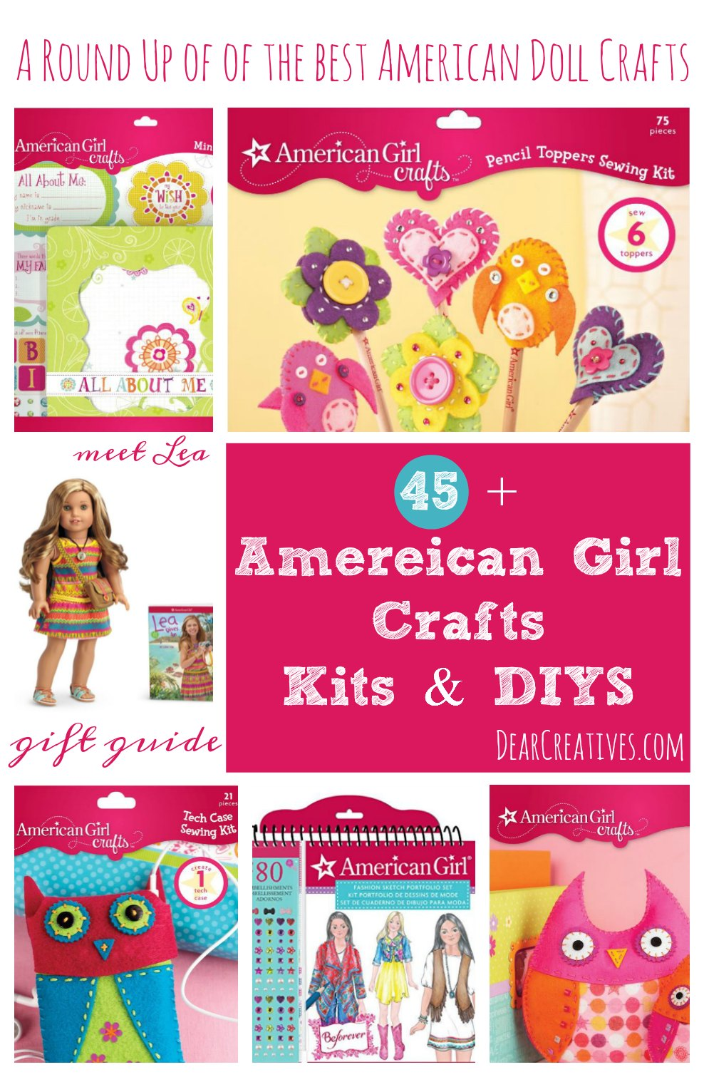 45 American Girl Crafts Kits & DIYs Plus More Your Kids Will Love!!