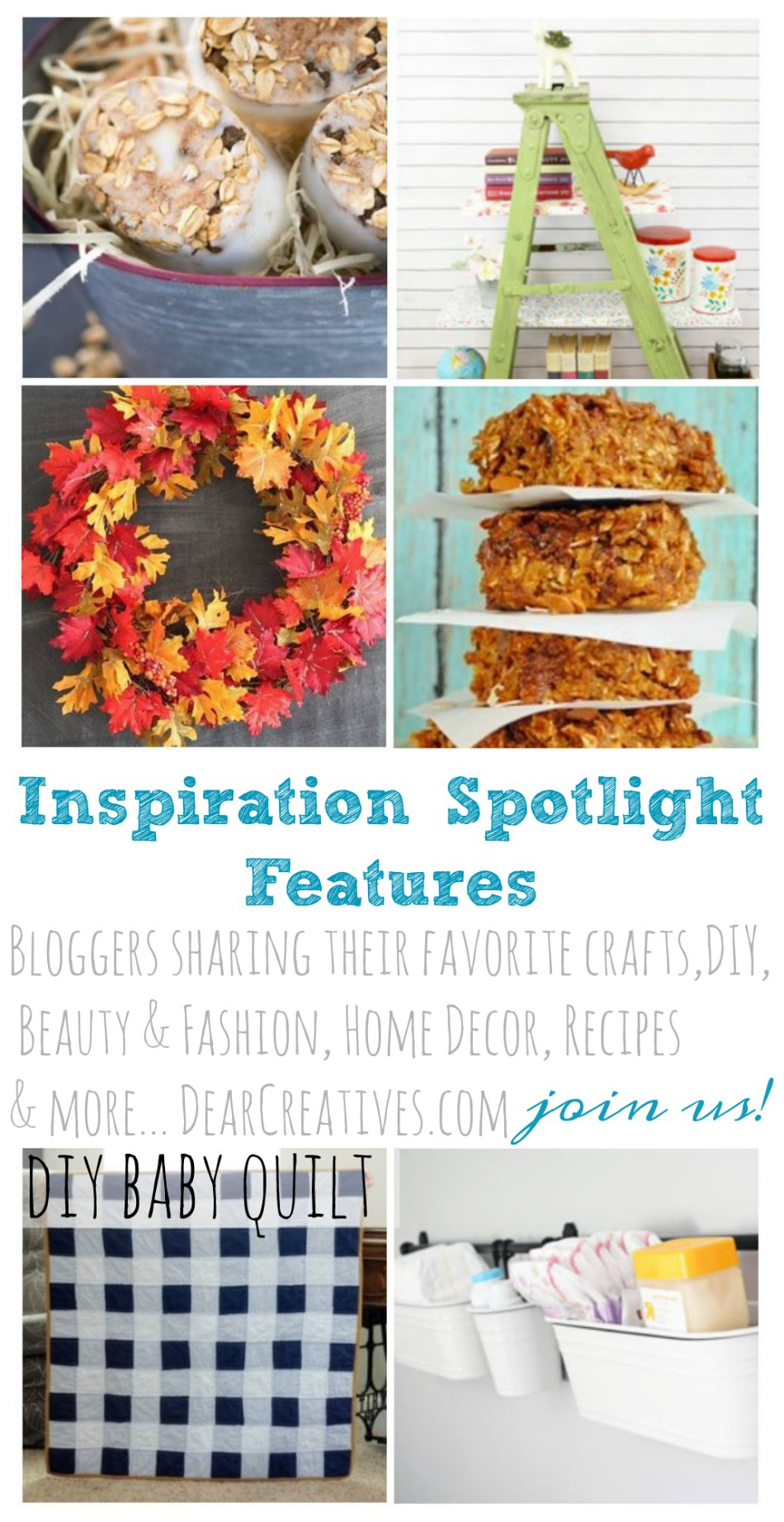 Linkup Party Inspiration Spotlight Party 209 Ideas, DIYs & Recipes
