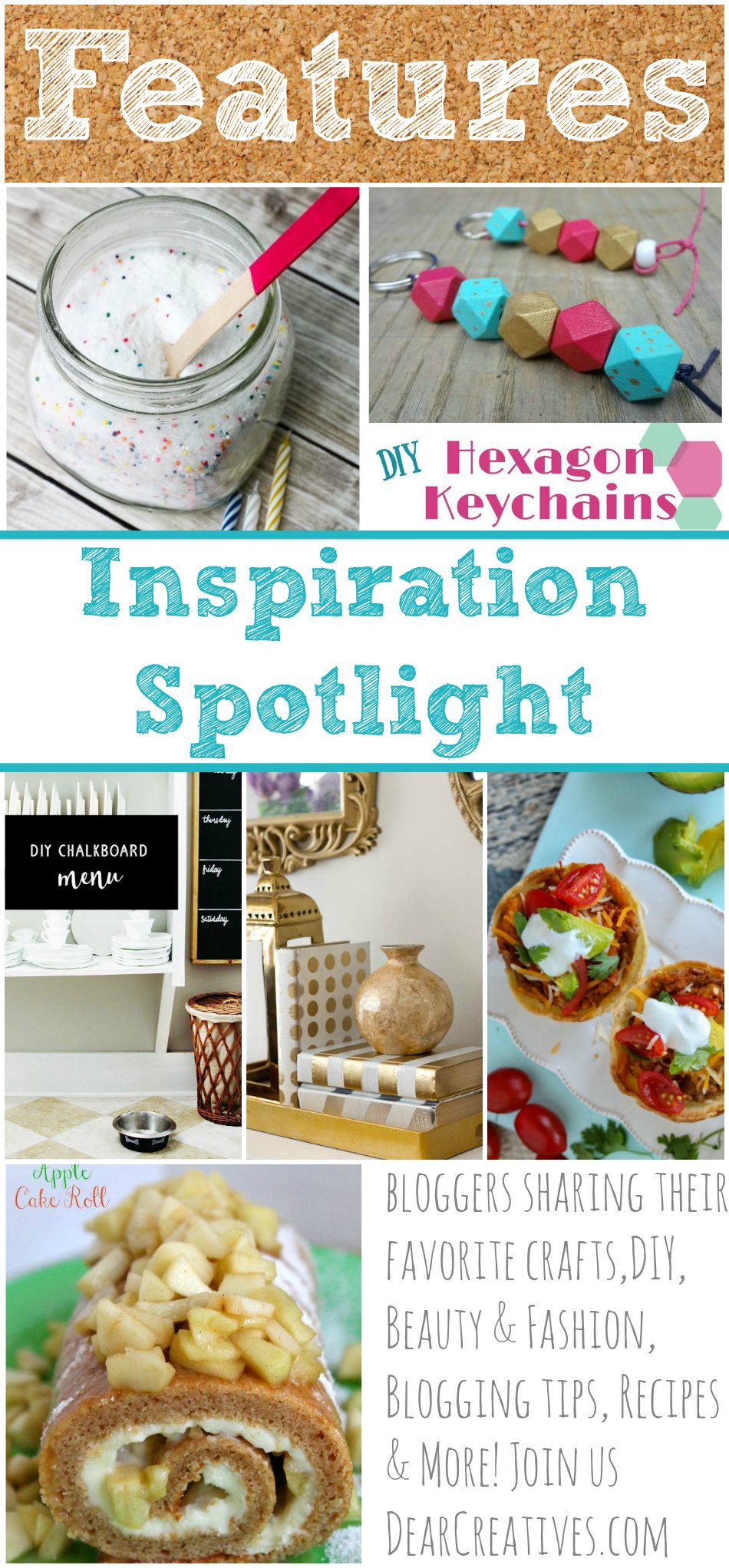 Linkup Party Inspiration Spotlight Party 210 Ideas, Crafts, DIYs & Recipes…