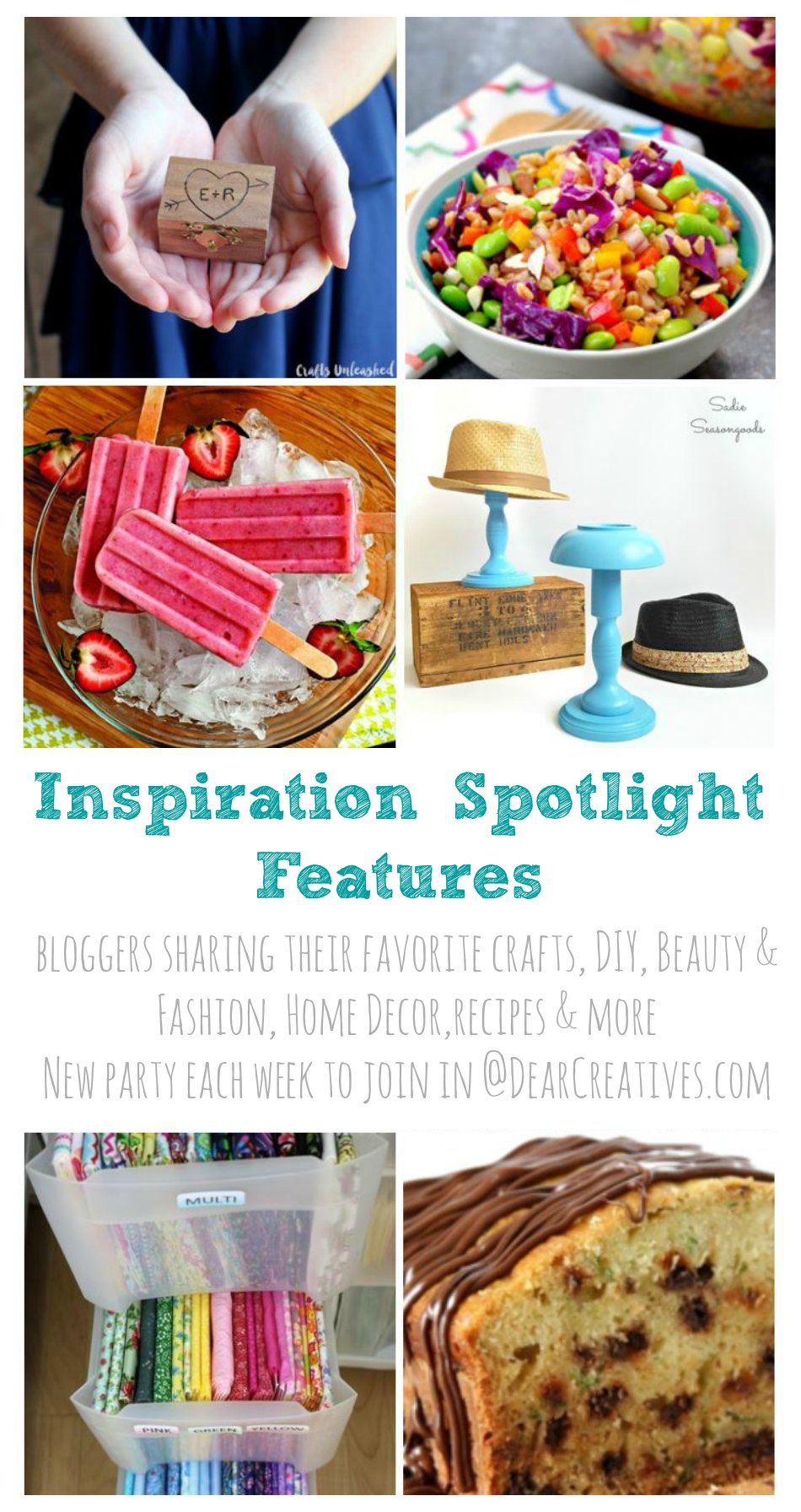 Linkup Party: Inspiration Spotlight Linky Party 207 Join Us!