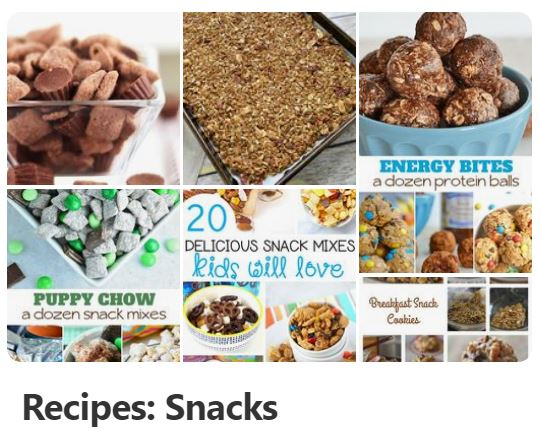 Snack ideas and snack recipes