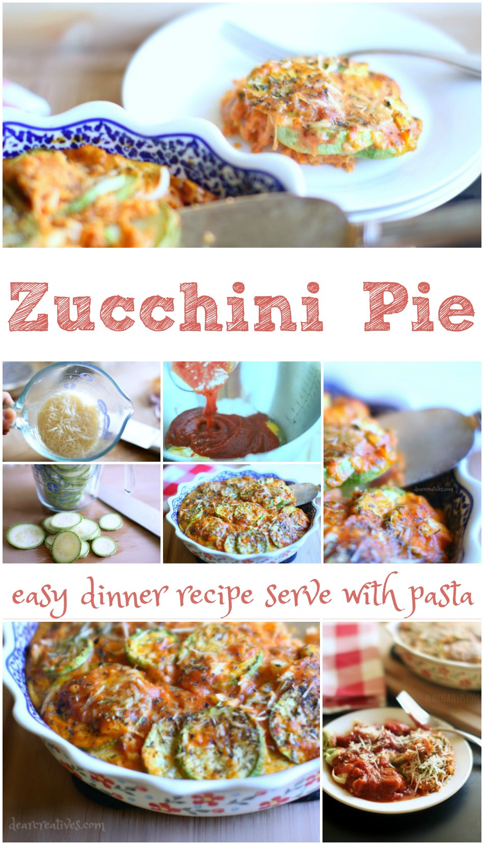 Ragu Recipes | Zucchini Pie Recipe An easy side dish for pasta dinners