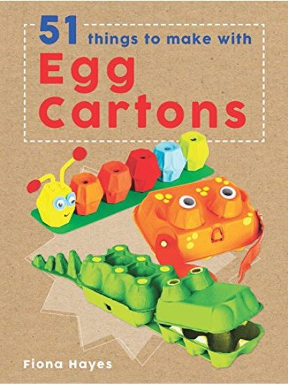 Kids Book Review: 51 Things To Do With Egg Cartons