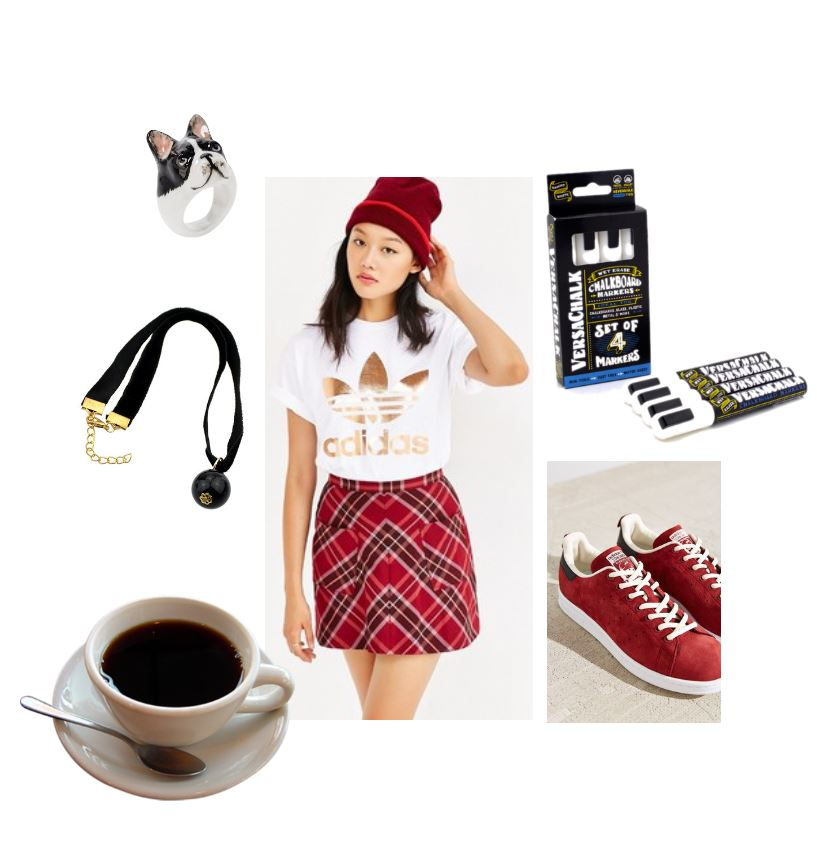 fashion style back to school outfit hip, geek chic | fashion style board- teen girl fashions