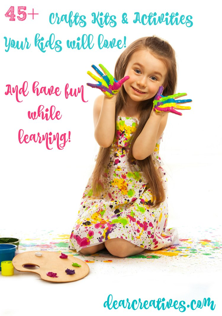 Kids Crafts, Craft Kits And Activity Kits Arts & Crafts Resources for Kids