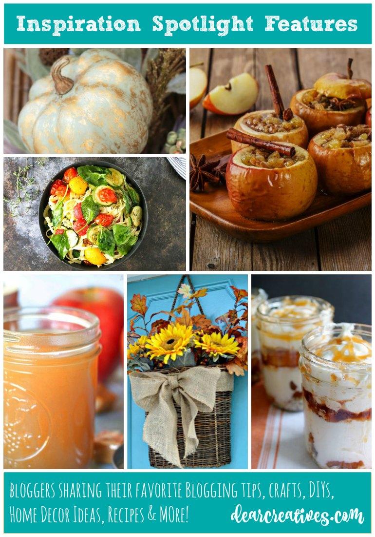 Linkup Party Inspiration Spotlight Party 213 Crafts, DIY, Recipes…
