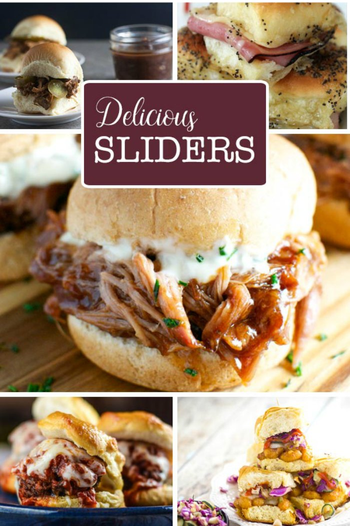 Slider Recipes You'll Love For  Game Day, Tailgating or Party Time!