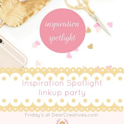Inspiration Spotlight Linkup Party #260 Crafts, DIY, Recipes, Home Decor & More!
