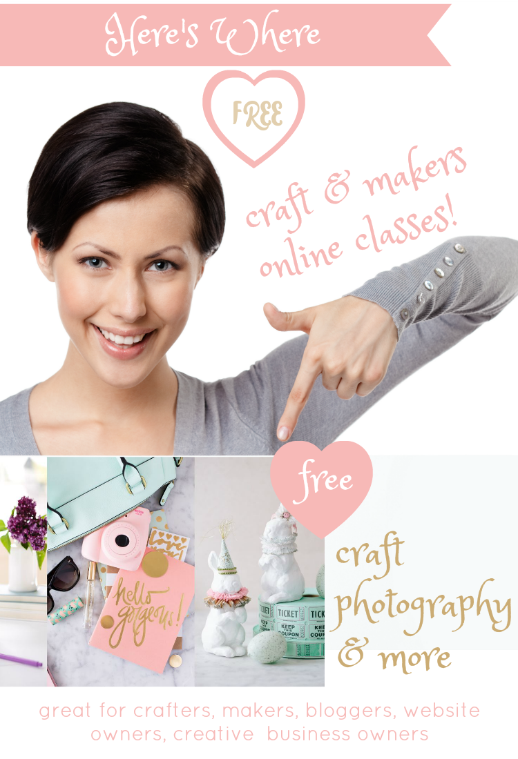 Free Online Courses For Crafts / Makers And Creative Business Owners!