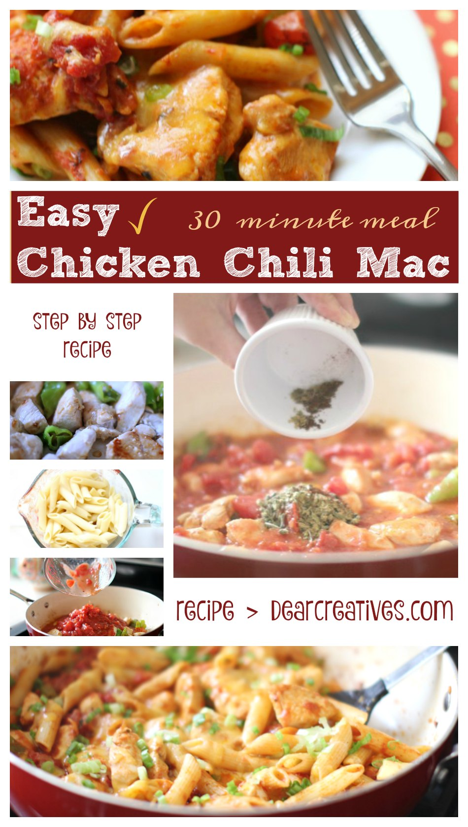 Chicken Chili Mac Recipe An Easy to make 30 minute recipe that the ...