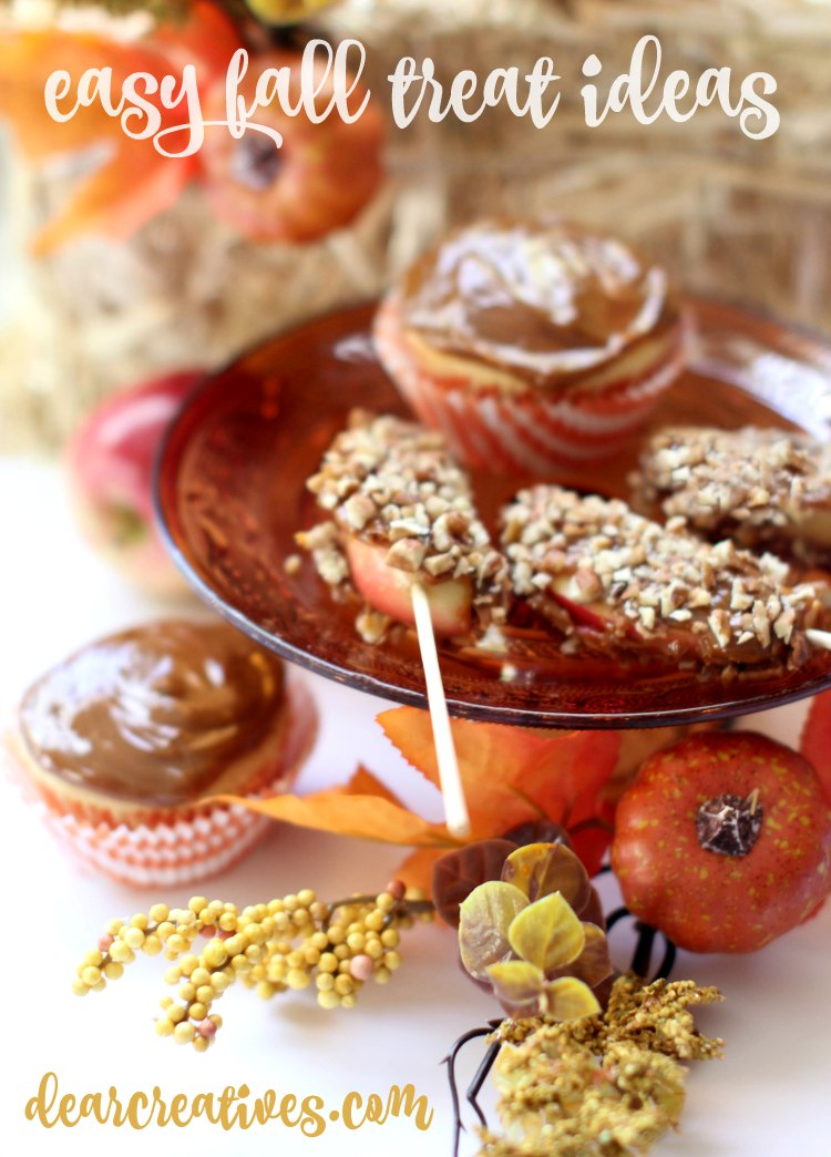 Easy Dessert Recipes And Fall Treat Ideas That Are So Easy You'll Love Making Them!