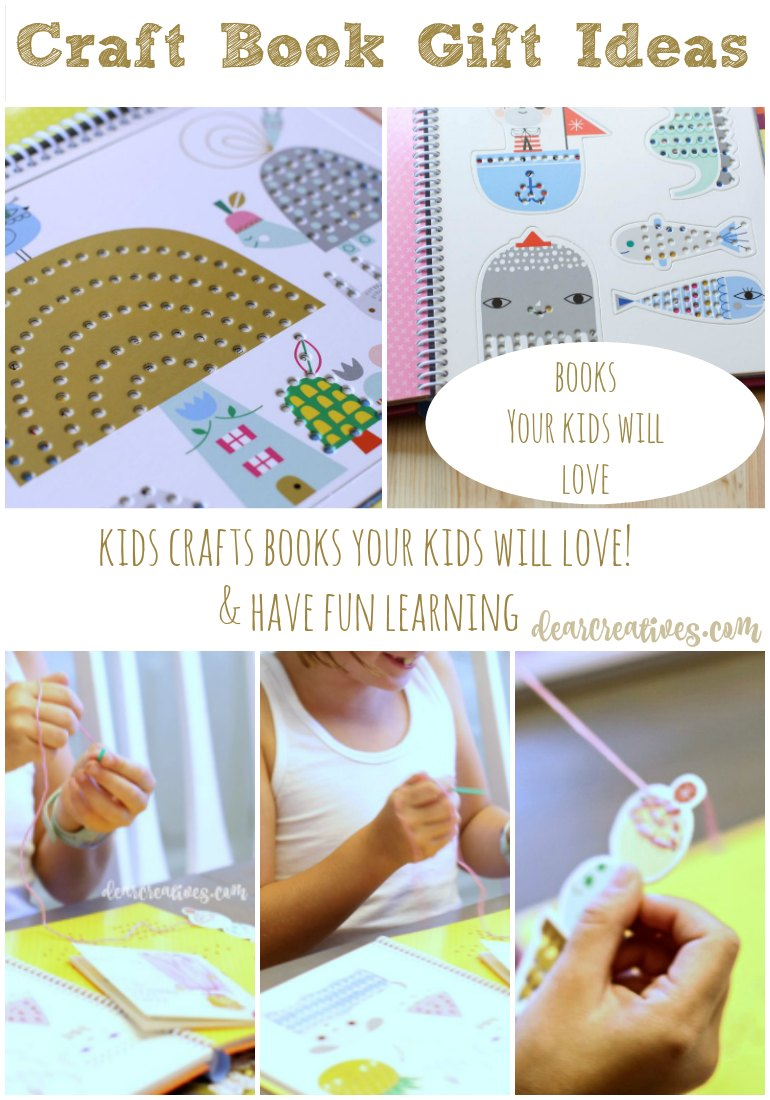 Kids Crafts Books That Are Great For Learning & Fun for Kids! Fun With Stitchables