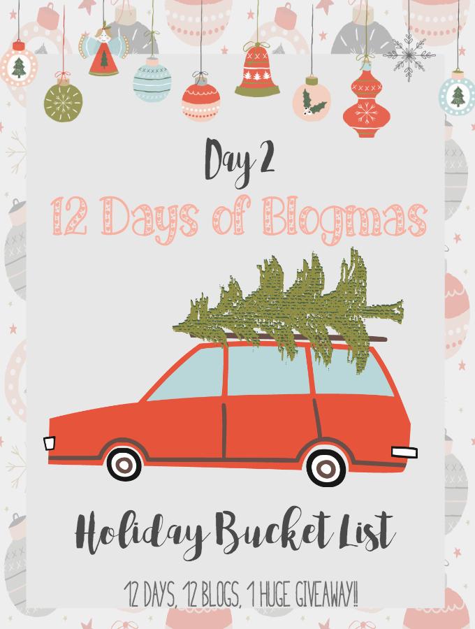 free printables christmas bucket list 12daysofblogmas day 2 blogmas - Free Printables For Christmas