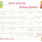 holiday spirit-kindness-holiday-of-giving-calendar-free printables