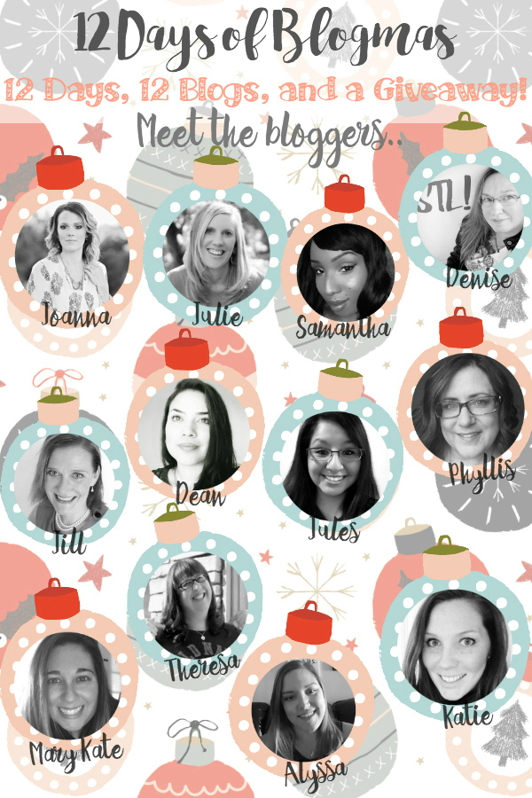 12 Days of Blogmas 12 Days, 12 Blogs And A Giveaway! 12 Days of Ideas For Your Holidays #12daysofblogmas