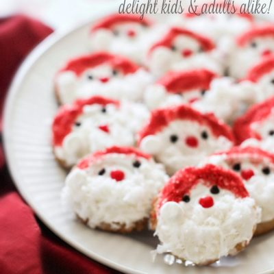 Holiday Cookies Recipes:  Santa Claus Cookies Easy And Delightful Kids Will Love These