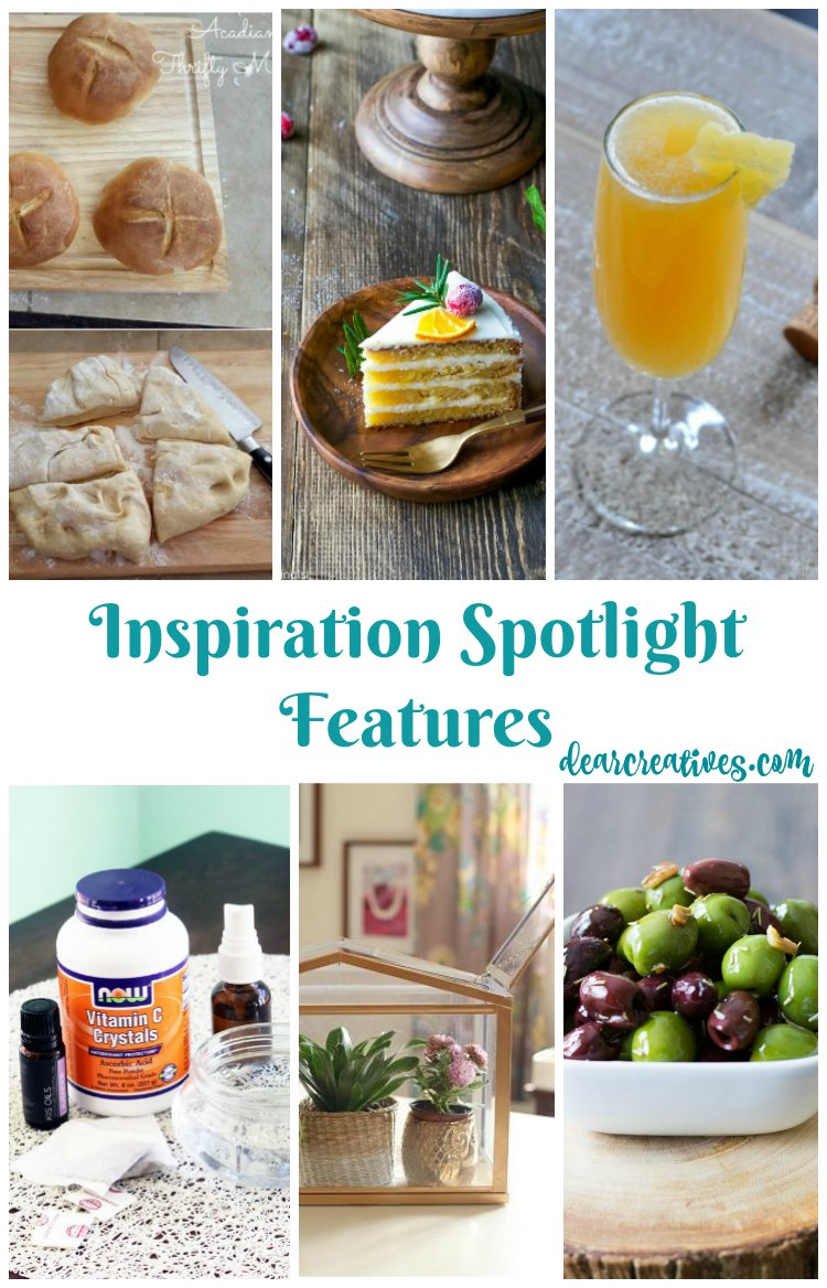 Linkup Party Inspiration Spotlight Party 226 Crafts, DIY, Recipes & more!